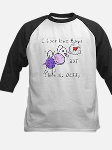 Love Daddy Kids Baseball Jersey