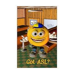 ASL Boy - Posters