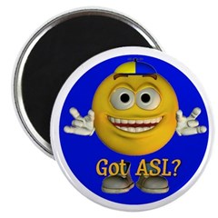 "ASL Boy - 2.25"" Magnet (10 pack)"