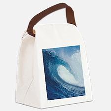 OCEAN WAVE 2 Canvas Lunch Bag