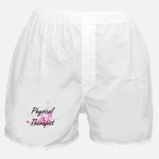 Physical Therapist Artistic Job Desig Boxer Shorts