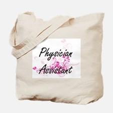 Physician Assistant Artistic Job Design w Tote Bag