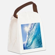 OCEAN WAVE 1 Canvas Lunch Bag