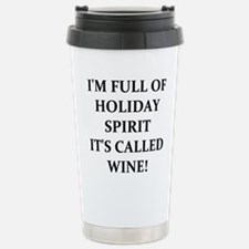 WINE! Travel Mug