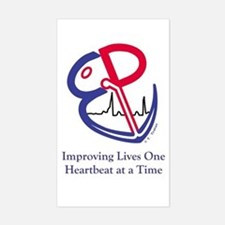 EP Electrophysiology WPW to Sinus Rhythm Decal