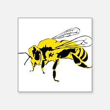 Yellow bee Sticker