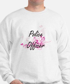 Police Officer Artistic Job Design with Sweatshirt