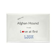 Afghan Lick Rectangle Magnet