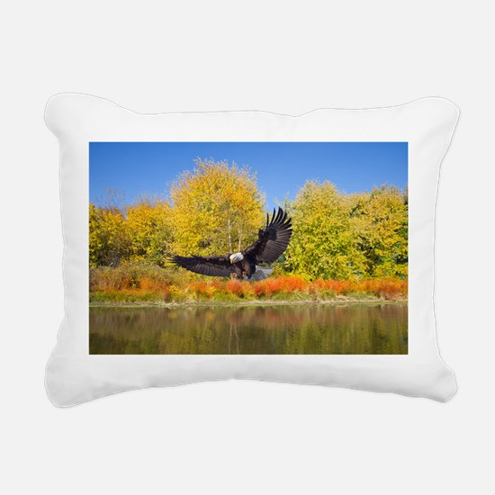 Bald Eagle Rectangular Canvas Pillow