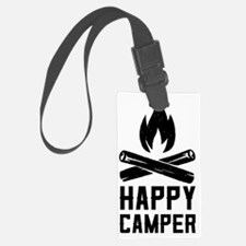 Cute Happy camper t Luggage Tag