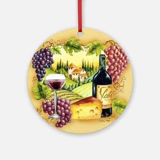 Best Seller Grape Round Ornament