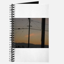 power line sunrise Journal