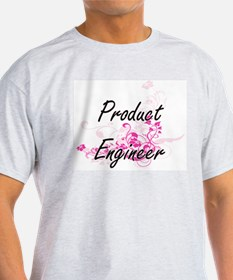 Product Engineer Artistic Job Design with T-Shirt