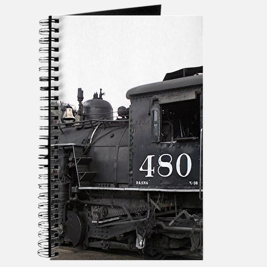Steam train locomotive, Colorado 10 Journal