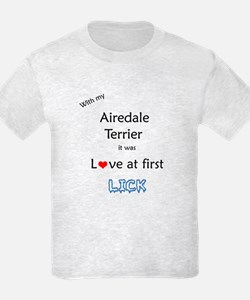 Airedale Lick T-Shirt