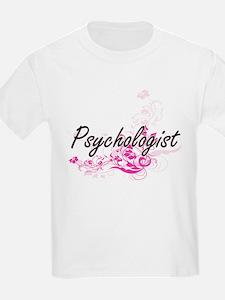 Psychologist Artistic Job Design with Flow T-Shirt