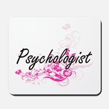 Psychologist Artistic Job Design with Fl Mousepad