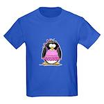 ballerina Penguin Kids Dark T-Shirt