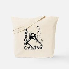 London Calling Ink Blot Layer Tote Bag