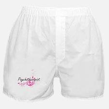 Psychotherapist Artistic Job Design w Boxer Shorts