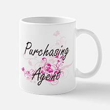 Purchasing Agent Artistic Job Design with Flo Mugs