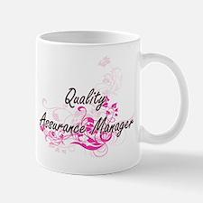 Quality Assurance Manager Artistic Job Design Mugs
