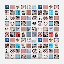 AMERICANA QUILT Tile Coaster