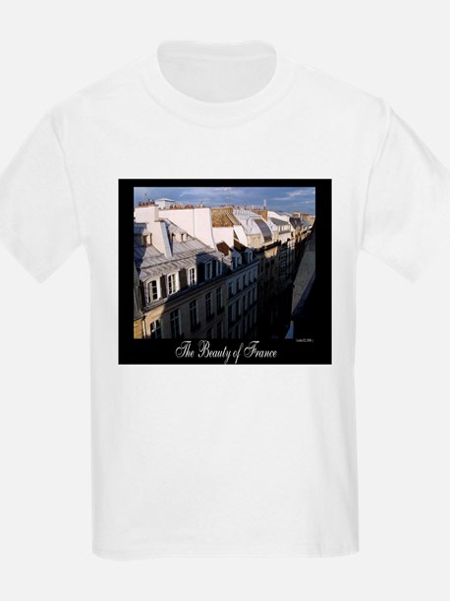 The Rooftops of Paris Kids T-Shirt