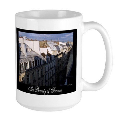 The Rooftops of Paris Large Mug