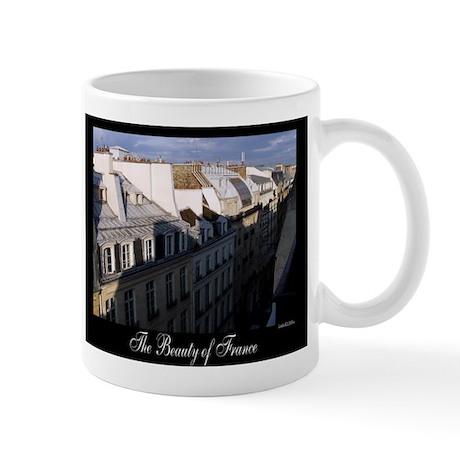 The Rooftops of Paris Mug