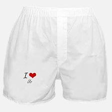 I love Us Boxer Shorts