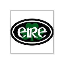 """Unique Ireland Square Sticker 3"""" x 3"""""""