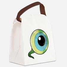 Unique Eyed Canvas Lunch Bag