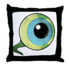 Unique Eye Throw Pillow