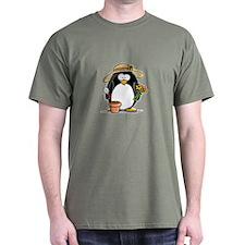 Gardening Penguin T-Shirt