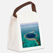GREAT BLUE HOLE 1 Canvas Lunch Bag