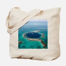 GREAT BLUE HOLE 1 Tote Bag