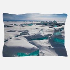 TURQUOISE ICE Pillow Case