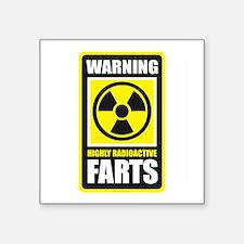 Warning Farts Sticker