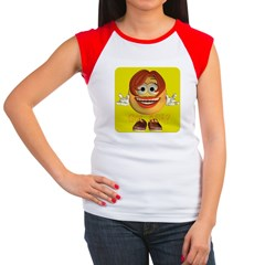 ASL Girl - Women's Cap Sleeve T-Shirt