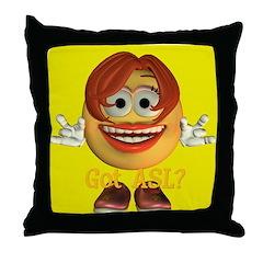 ASL Girl - Throw Pillow