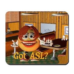 ASL Girl - Mousepad