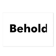 Behold  Postcards (Package of 8)