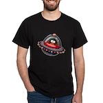Evil Space Ship Penguin Dark T-Shirt