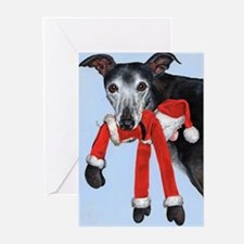 Funny Greyhounds Greeting Cards (Pk of 20)