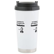 Unique Pro democrat Travel Mug