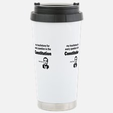 Cute Obama socialism Travel Mug