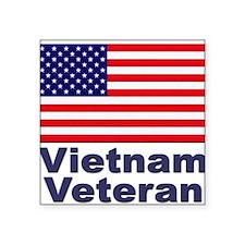 """Unique Veterans day Square Sticker 3"""" x 3"""""""