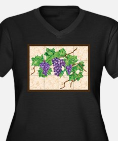 Best Seller Grape Plus Size T-Shirt