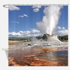 YELLOWSTONE CASTLE GEYSER Shower Curtain